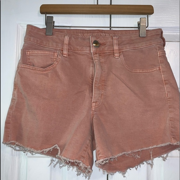 American Eagle Outfitters Pants - American Eagle high waisted jean shorts.